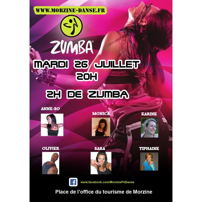 Masterclass zumba t 2016 morzine morzine danse - Office de tourisme de morzine ...