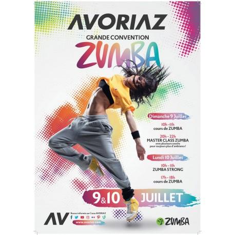Masterclass  Zumba été 2017 Avoriaz